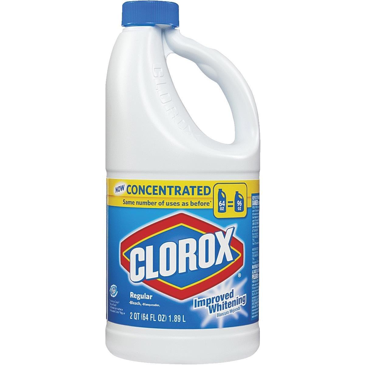 Clorox Regular Concentrated Liquid Bleach