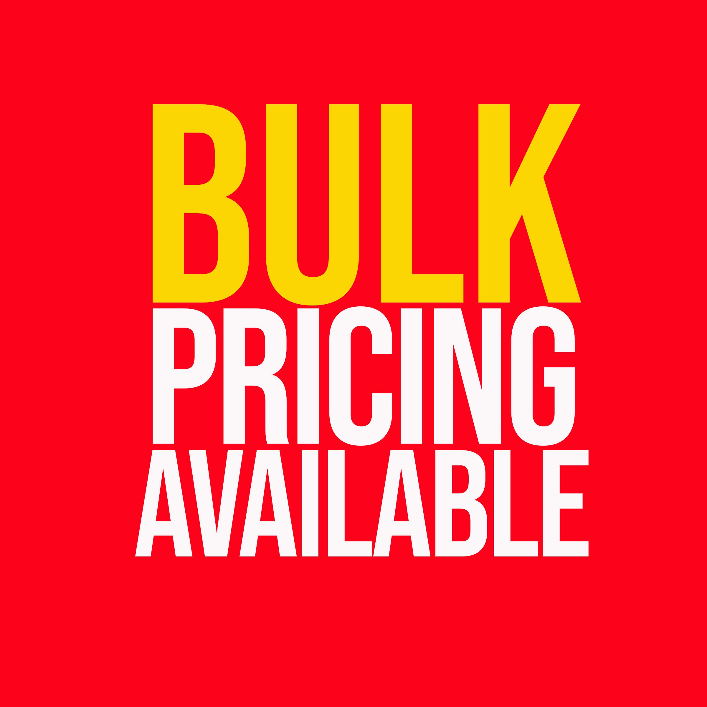 Bulk Discount Logo 2020
